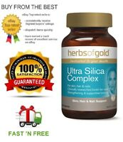 HERBS OF GOLD ULTRA SILICA COMPLEX 30T - HIGHLY BIOAVAILABLE + FREE SHIPPING