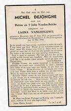 SOLDAAT M.DEJONGHE °ROESELARE Gesneuveld VLIJTINGEN- RIEMST (J.VANDEN BULCKE)