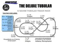 LIONEL O GAUGE DELUXE TRAIN TRACK PACK 3 rail set metal curve layout 6-22969 NEW