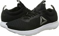 Reebok Men's Astroride Run Fire MTM Trainers Running Shoes Sneakers BS8368 Black