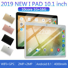 7/10.1Inch Tablet Android 8.1 1GB+ 16G Ten Octa-Core Dual SIM &Camera 3G Wifi PC