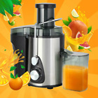 NEW 2021 Electric Juicer Wide Mouth Fruit Centrifugal Juice Extractor 3 Speed photo