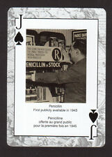 Penicillin Available in 1945 -  Y2K Historical Playing Card