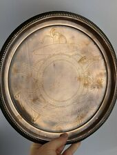 Salver Made from HMS Victory Copper - Lord Nelson Centenary 1905 Antique Rare