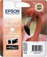 EPSON MULTIPACK TRASPARENTE C13T08704010 T0870+T0870 2 CARTUCCE D'INCHIOSTRO: T0