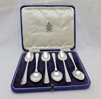 Vintage Sterling Solid Silver Afternoon Tea Spoons 1946 (1238-C-LNY)