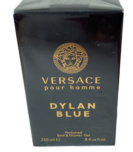 Versace, Dylan Blue Pour Homme Perfumed Bath&Shower 8 fl oz New With Box Sealed