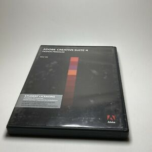 Adobe CS4 Creative Suite 4 Design Premium Mac OS With Product Key