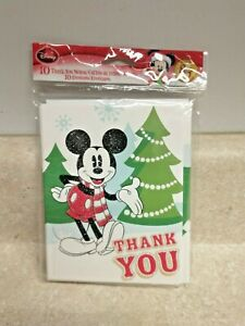 American Greetings Disney Micky Mouse Thank You Notes And Envelopes NEW