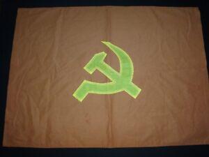 "Vietnam War VC NVA Flag COMMUNIST PARTY ""HAMMER And SICKLE"" Symbol"
