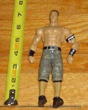 1a219c7fea19f 2011 WWF WWE Mattel John Cena Wrestling Figure Green Camo Jorts Never Give  Up