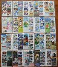 Japan 2005 - 2013 Animation 20th Cartoon Full S/S x 20 Doraemon Gundam stamps