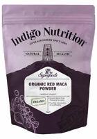 Indigo Herbs Organic Red Maca Root Powder 250g -1kg 100% Pure