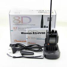 WOUXUN KG-UV8D BIBANDA 136-174/400-480MHZ +CUFFIE VERSIONE 1.05 RICETRASMITTENTE