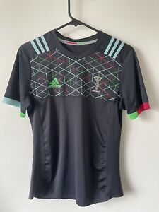 Adidas Harlequins Quins Training Clima Cool  Rugby Top Jersey 2018-2019 Size S