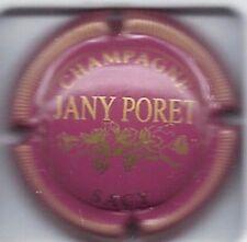 Capsule de champagne PORET-JANY Rose ctr striée