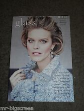 EVA HERZIGOVA - GLASS MAGAZINE - WINTER 2014 - AMAZING PHOTOSHOOT!