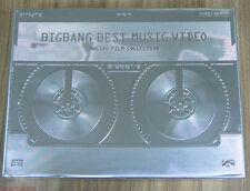 BIGBANG Best M/V Film Collection 2006~2012 KOREA EDITION DVD + STICKER SEALED
