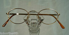 Randolph Engineering Style # 801 Oval Metal Eyeglass Frame 48mm 22mm 135mm Gold