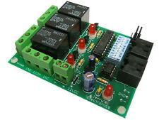 3 Channel DMX 512A Controlled Relay Switch Kit DIY Converter Electronic Solder