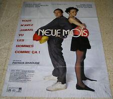 """NEUF MOIS Orig Huge Movie Poster France 1994 62""""X45"""""""
