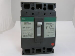 General Electric GE TED136050WL 3p 50a 600v Circuit Breaker NEW 1-yr Warranty