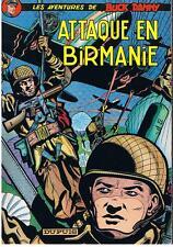 CHARLIER/HUBINON BUCK DANNY N° 6 ATTAQUE EN BIRMANIE DUPUIS 1983 TRES BON ETAT