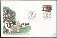 Horse Centenary Agriculture Education Aland Finland FDC 1988