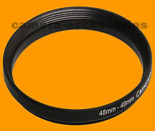 48mm to 49mm 48-49 Stepping Step Up Filter Ring Adapter 48-49mm 48mm-49mm (UK)