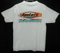 Vintage Hooters Surfboards Men's Size Medium T Shirt White