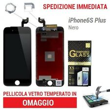 TOUCH SCREEN RETINA DISPLAY  FRAME PER APPLE IPHONE 6S PLUS NERO 3D TOUCH HD