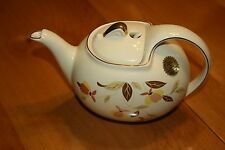 1 HALL JEWEL TEA TEA POT HOOK COVER TEA AUTUMN LEAF CHINA SPECIALTIES
