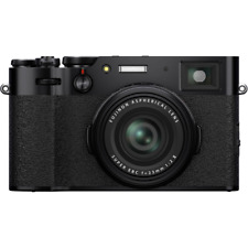 Fujifilm X100V Professional Digital Compact Camera - Black