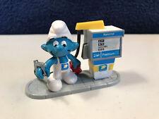 Smurfs National Gas Station Rare Super Smurf Playset Vintage Toy Figure 40080