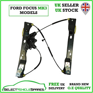 NEW FORD FOCUS MK3 DRIVERS RIGHT FRONT WINDOW REGULATOR (NO MOTOR) 2012-2018