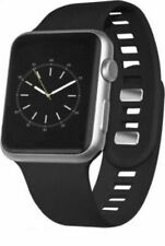 Silicone Sport Band for Apple Watch 42mm - Black - SRP $24.99