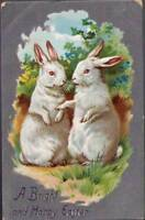(tg7) Tuck Postcard: Easter Greetings