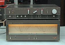 Oberklasse Vintage Vor- Endstufen Kombination Technics SE-A5 und SU-A6