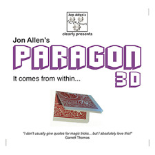 Paragon 3D (DVD and Gimmick) by Jon Allen from Murphy's Magic