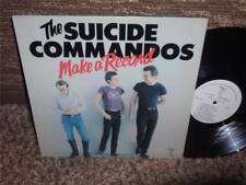 SUICIDE COMMANDO'S / MAKE A RECORD...LAST ONE OF KILLER PUNK <<LOOK>>