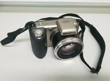 Olympus SP-600UZ - 12MP 15x Optical Zoom Wide Digital Camera - Silver - Tested