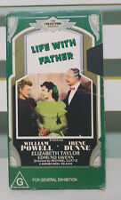 LIFE WITH FATHER VHS VIDEO WILLIAM POWELL COLLECTORS EDITION