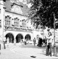 ALLEMAGNE c. 1960 -Hôtel de Ville Clarinettiste Fribourg- Négatif 6 x 6 - ALL 16