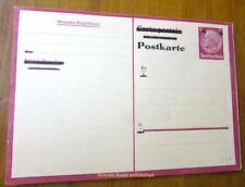 EBS Germany 1943 Postal Card - Occupied Belgium - Hindenburg overprint P244 F