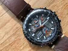 citizen eco drive Promaster Skyhawk Titanium Radio Controlled Watch JY0010-50E