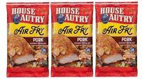 House Autry Air Fry Pork Seasoned Coating Mix 3 Bag Pack