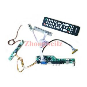 TV controller board kit for CLAA215FA04/HR215WU1-120 LVDS 30-Pin 1920*1080 panel