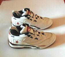 EKTELON QT Scream Mid White w/ Black & Red Racquetball / Squash Shoes ( NEW )