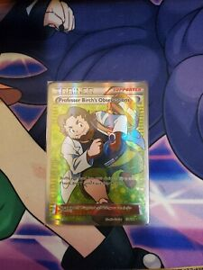 Pokemon TCG : Professor Birch's Observations Full Art Primal Clash 159/160 NM-LP
