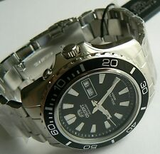 Automatic watch. ORIENT FEM75001BW. Mako XL. 20 ATM. Diver. New!
